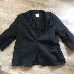 Old Navy Black Blazer XXL